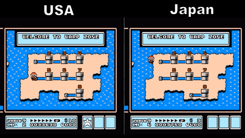 Super Mario Bros. 3 Was Kind Of Different In Japan
