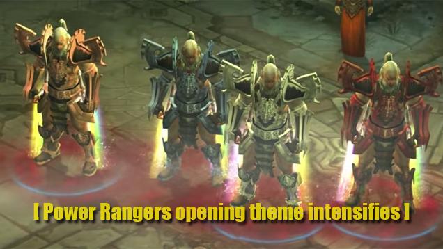 Oh Hey, It's The Power Rangers In Diablo III