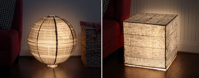 Nerdy Paper Lanterns For Those Who Prefer Star Wars or Treks