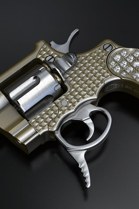 World's Smallest Gun Now In Gold and Diamonds, Kills Just the Same