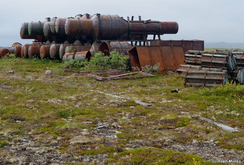 This Island Holds the Decaying Remains of the Soviet Nuclear Fleet