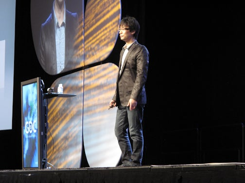 Kojima Stands And Delivers A Keynote