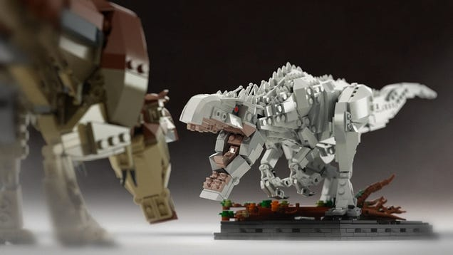 Let's Help This Lego Jurassic World Indominus Rex Set Get Approved
