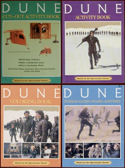 The kid-unfriendly coloring books of Dune