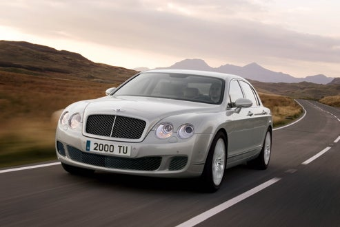 "2009 Bentley Continental Flying Spur Gets Facelift, ""Speed"" And Presumably E! Special"