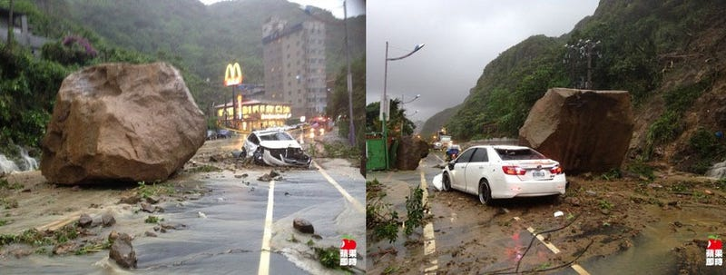 Luckiest man alive miraculously survives insane landslide