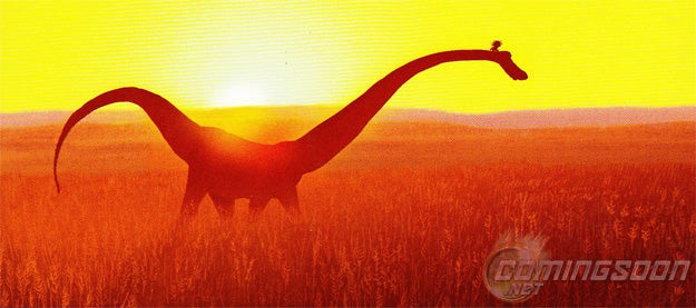 Here's the first official look at Pixar's new dinosaur movie and more