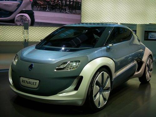 Renault Zoe Concept: Live Photos
