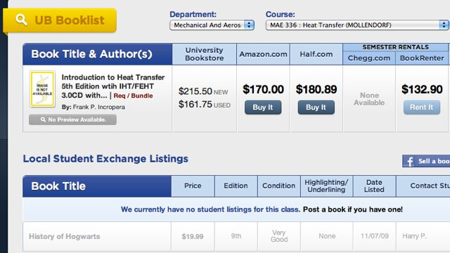 SlugBooks Finds the Cheapest Buy or Rent Prices for Textbooks