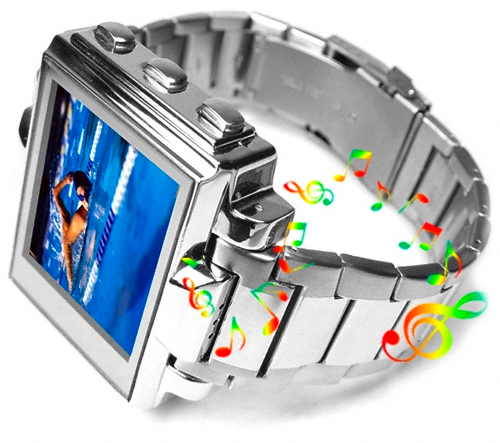 Multimedia Watch Makes Wrist Mounted Accessories Useful (Almost)