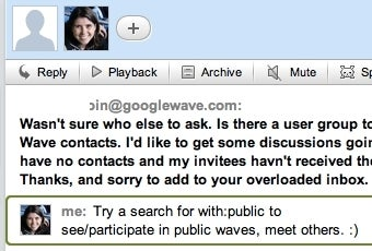 The First Google Wave Search You Must Know