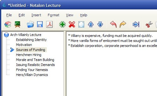 Notalon Helps You Take Cornell-Style Notes