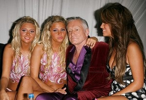 Hugh Hefner, Playboy, Is Increasingly The Odd Man Out