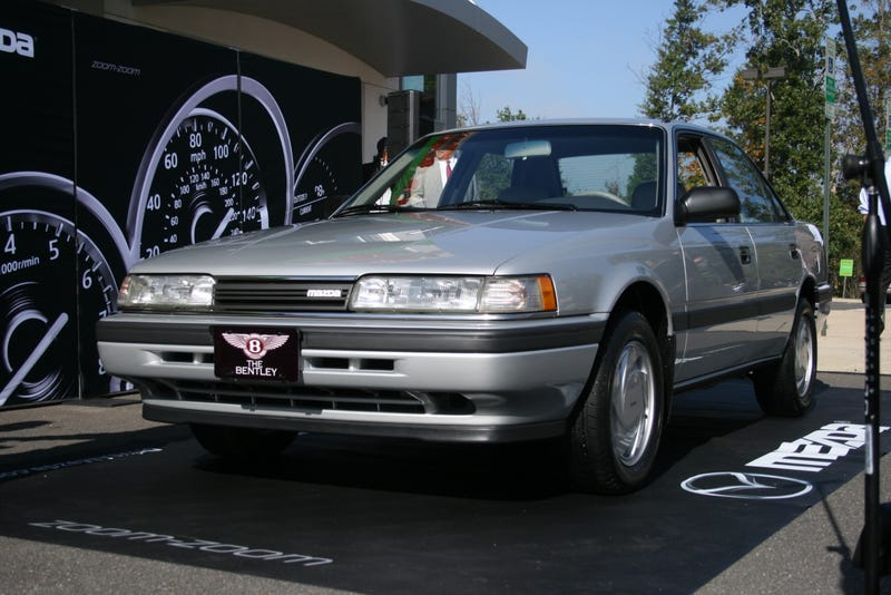 Why Redskins Star Alfred Morris' Dream Is This Humble 1991 Mazda 626