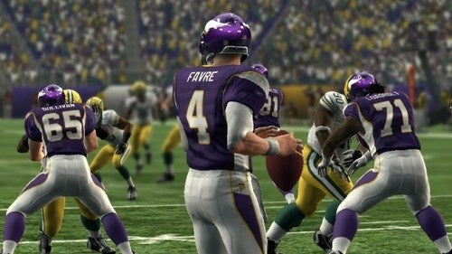 Yes, Brett Favre will be in Madden NFL 10