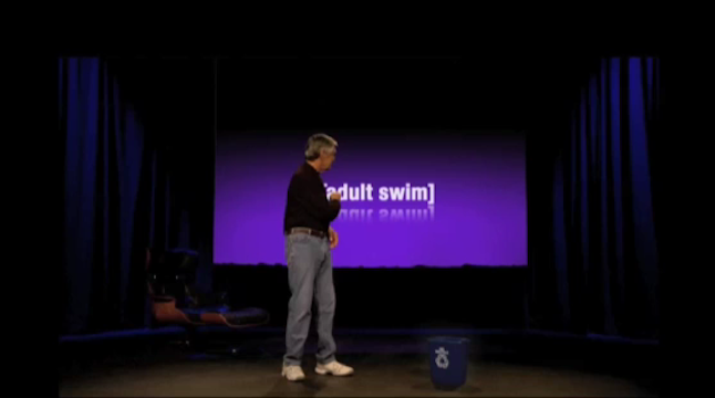 Adult Swim's Steve Jobs Keynote Copycat