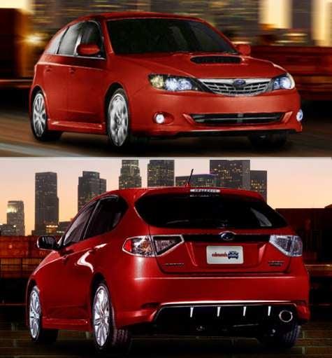 Hell Is Chrome: Subaru's New Impreza Breaks Cover