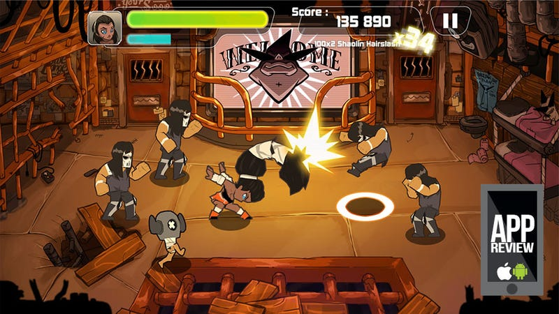 Now This Is How You Do A Mobile Beat-Em Up