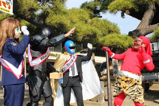 RoboCop Is Throwing Beans at People in Tokyo