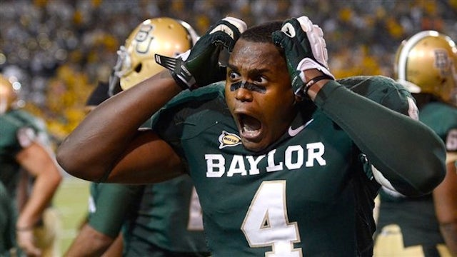 Baylor Upset Oklahoma And Isaac Williams's Head Almost Exploded