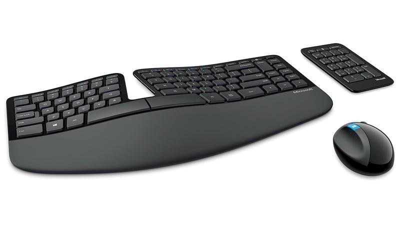 Microsoft's Sculpt Ergonomic Keyboard Is Easy on Wrists and Eyes Alike