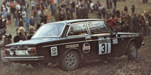 Volvo Versus Saab Rally Battle