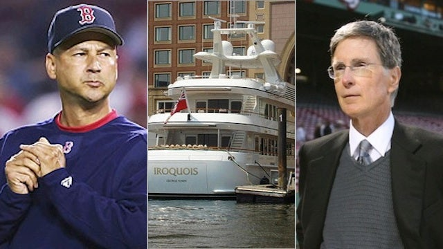 John Henry Blames Terry Francona For Injury Sustained On His Megayacht