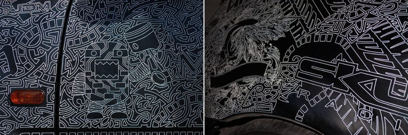 This Hand Engraved Civic Is A 5,000-Hour Work Of Art