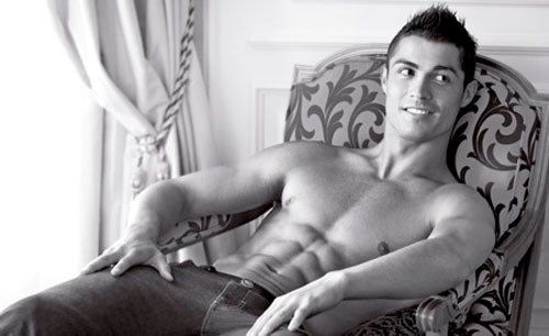 Cristiano Ronaldo's Armani Ads Revealed; Courtney Love Always Packs Extra Panties