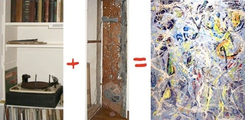Jackson Pollock's Hi-Fi Was Paint-Splattered Too, Played Loud