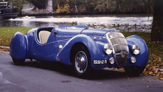 The ten most phallic cars