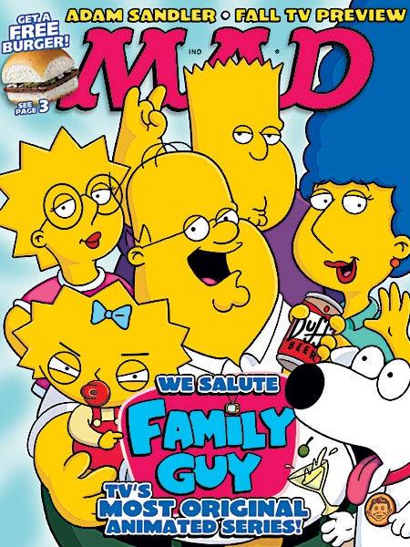 Really? Fucking Family Guy?!