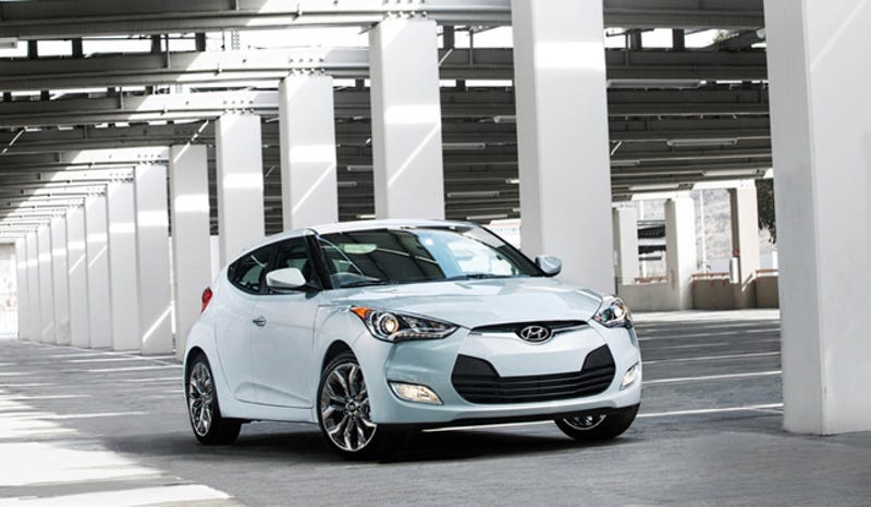 The 2014 Hyundai Veloster RE:FLEX Is The Only Hyundai With A Colon