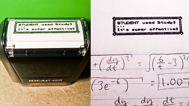 Pokemon teacher's stamp rewards students before shoving them back in their Pokeballs
