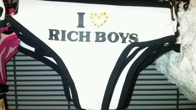 KMart Sells 'I ♥ Rich Boys' Thong For Little Girls