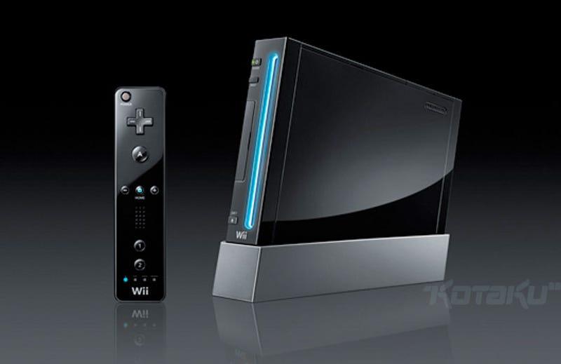 Nintendo Selling Black Wii in Japan This Summer