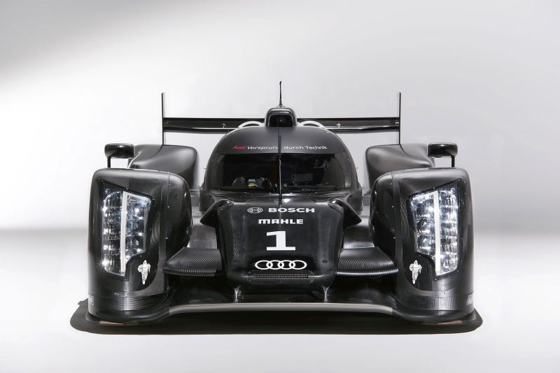 Audi R18 Le Mans Prototype Slams The Roof