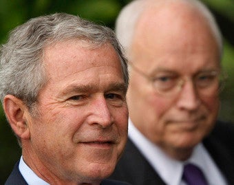 George W. Bush and Dick Cheney Basically Hate Each Other