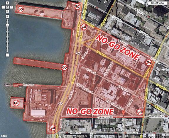 Meatpacking District Quarantine Plan