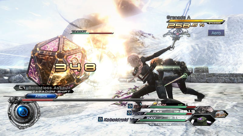 Final Fantasy XIII-2's Goofy Octopus DLC Is Straight Outta Final Fantasy VI