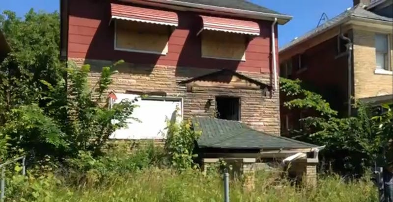 Home Falls On Detroit Man 'Wizard Of Oz'-Style After Scrapping Attempt