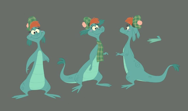 First look at the Disneyfied Loch Ness Monster, Nessie!