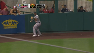 Yoenis Cespedes Made Another Awesome Throw To Get A Baserunner Out
