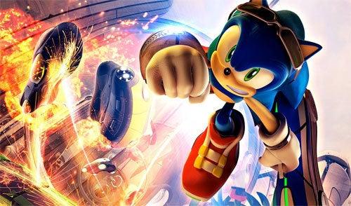 Rumor: Sonic Free Riders Is Sega's Natal Mascot Racer
