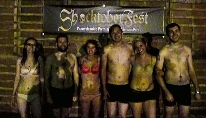 This Is What It Looks Like Inside That Naked Haunted House