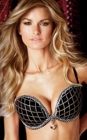 Victoria's Secret's Diamond Bra, Now With More Diamonds; Eva & Tony Do London Fog