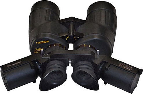 LightSpeed Binoculars Transmit Secure Video and Audio Via Infrared