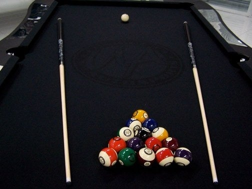 Car-Themed Pool Table Built For Will Castro