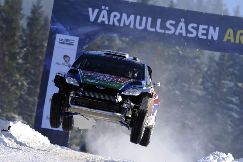 Ford Fiestas soar in WRC Opener
