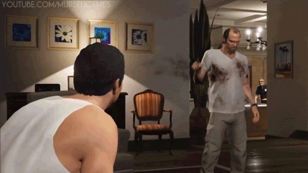 Glitch Turns GTA V Into An Accidental Bloodbath